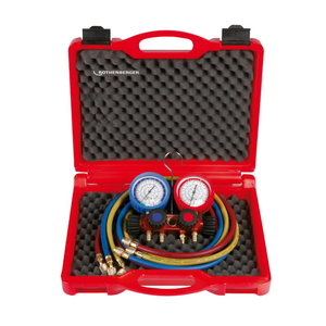 Manifold set 4-way II Plus (R410A), Rothenberger