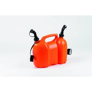 Kombikanister 6+3L, valamisotsikutega, oranz