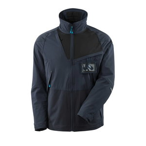 Jacket Badalona Advanced, black/Dark petroleum M