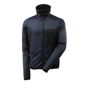 Flīsa jaka Advanced 17103, tumši zila/melna, Mascot
