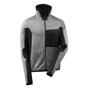 Flīsa jaka Advanced 17103, pelēka/melna, Mascot