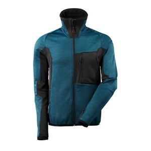 Flīsa jaka Advanced 17103, tumši zili zaļa/melna L, , Mascot