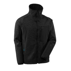 Softshell Advanced 17105 black-fleced/black, Mascot