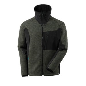 Softshell Advanced 17105 with membrane, moss green/black, Mascot