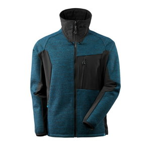 Softshell jakk 17105 Advanced. sinine/must 2XL, , Mascot