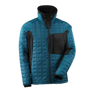 Thermal Jacket Advanced with CLIMASCOT dark petroleum/black XL, Mascot