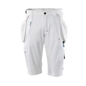 Tööpüksid ripptaskutega lühikesed 17149 Advanced, valge C42, Mascot
