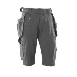 Shorts with holster pockets 17149 Advanced, grey C56, , Mascot