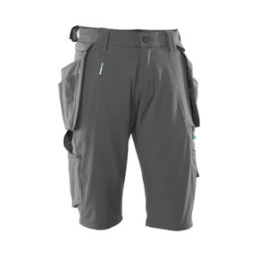 Shorts with holster pockets 17149 Advanced, grey C56, , Mascot