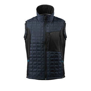 Vest 17165 Advanced, Climascot tumesinine/must, Mascot