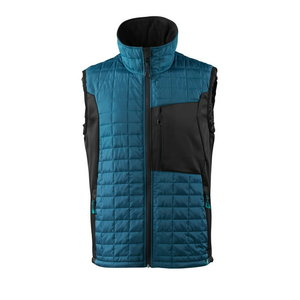 Thermal Gilet Advanced with CLI, d.petroleum/black M, Mascot