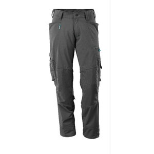 Trousers with kneepad pockets, Advanced, dark anthracite 82C, Mascot