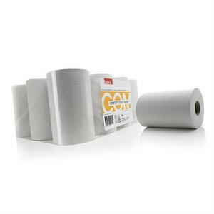 Popierinių šluosčių ritinys  Comfort, 120 m, 12 vnt., Satino