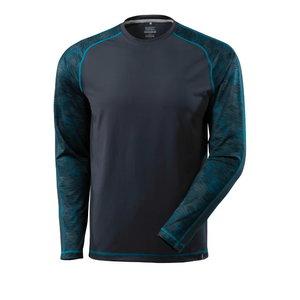 T-Shirt Advanced, T-shirt long-sleeved, dark navy 2XL, Mascot