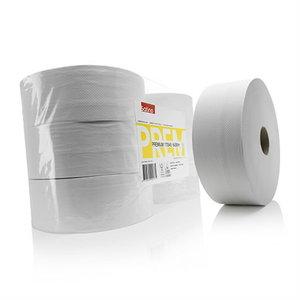 Tualettpaber rullis.  Premium, 2-kihiline, 380 m, Satino