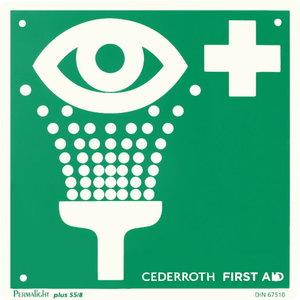 Silmaloputuspudeli asukohasilt, Cederroth