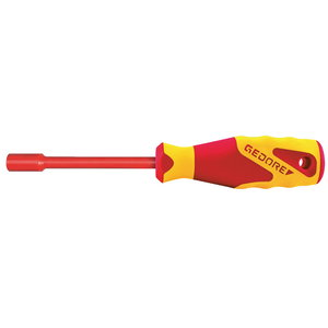 VDE Socket wrench with handle 6mm, Gedore