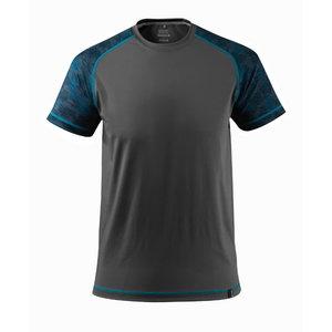 Marškinėliai Advanced tamsus antracitas M, Mascot