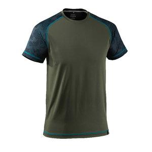 Marškinėliai Advanced samanų žalia/mėlyna L, Mascot