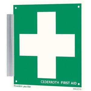 Sign, holder clip, Cederroth