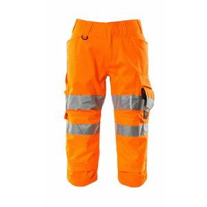 Pants 3/4 17549, hi-viz CL1, orange C46, Mascot