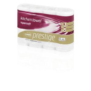 Kitchen rolls  Prestige, 3-ply, 4 rolls, Wepa