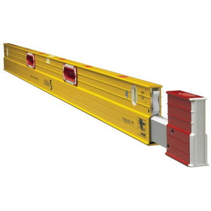 Telescopic spirit level with magnet, 186-318 cm, Stabila