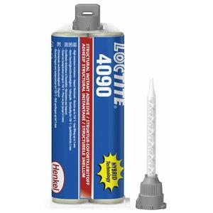 Momentiniai klijai LOCTITE HY 4090 50g + 5mixers, Loctite