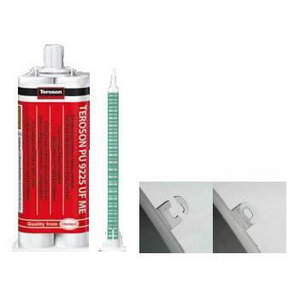 Plastic repair adhesive  PU 9225 UF ME 2x25ml, Teroson