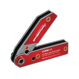 Adjustable welding angle magnet VSWM 15 (30°-270°), Schweisskraft