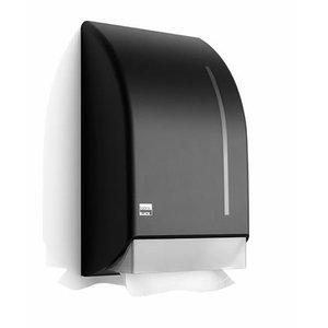 Paberrätiku hoidik lehtpaberile/  Black, Satino