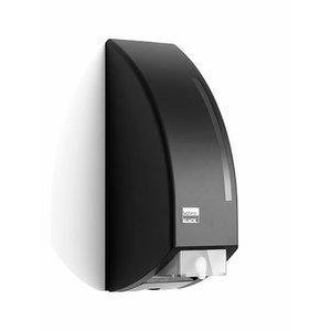 Black soap dispenser 750ml cartridge, Satino