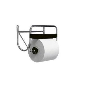 Paberrätiku hoidja rullidele, seinale kinnitatav, , Satino