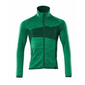 Fliisjakk Accelerate, heleroheline/roheline 2XL, MASCOT