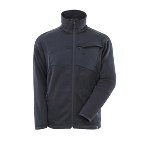 Džemperis su  užtrauktuku  ACCELERATE, tamsiai  mėlyna XL, Mascot