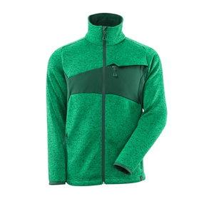 Trikotāžas jaka ACCELERATE, zaļa 3XL