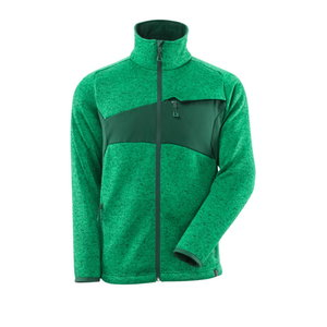 Jakk kootud ACCELERATE  lukuga, roheline XL, Mascot