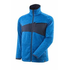Džemperis su  užtrauktuku  ACCELERATE, azur blue L, Mascot