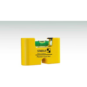 Spirit level Pocket Electric with belt clip, Stabila
