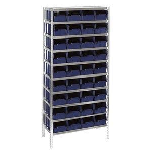 Lentyna 7-1600 su 32 dėžutėmis, Raaco