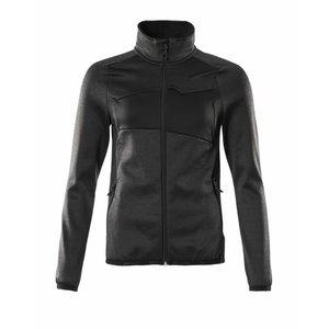 Džemperis Fleece ACCELERATE, dark grey/juoda 2XL, , Mascot