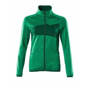 Fliisjakk ACCELERATE lukuga naiste, heleroheline/roheline 3X 3XL, , Mascot