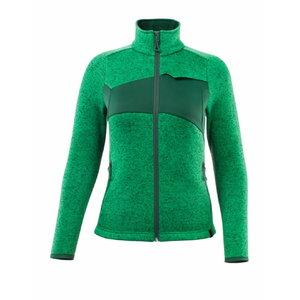 Knitted jumper with zipper ACCELERATE, women, green, Mascot