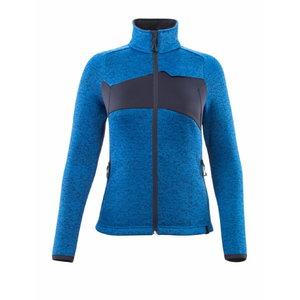 Knitted jumper with zipper ACCELERATE, women, azur navy, Mascot