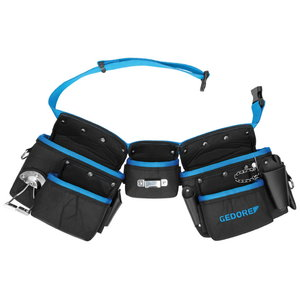 Three pouch belt set WT 1056 8 80-120cm, Gedore