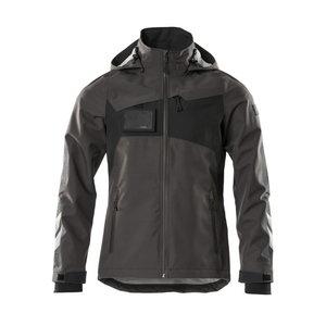 Vējjaka ACCELERATE, dark gray/black XL, Mascot