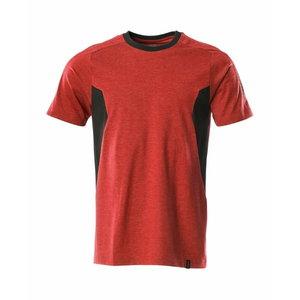 T-särk Accelerate, punane/must XL