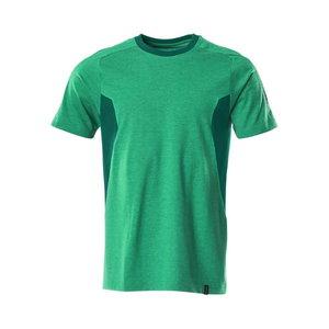 T-Shirt Accelerate, grass green/green XS