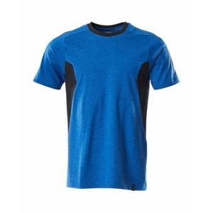 T-krekls Accelerate, gaiši zils/tumši zils, Mascot