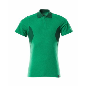 Polo Shirt Accelerate, grass green/green 4XL